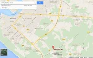 Myhomestay Muar - Google Maps - Google Chrome